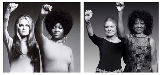From gloria steinem fist