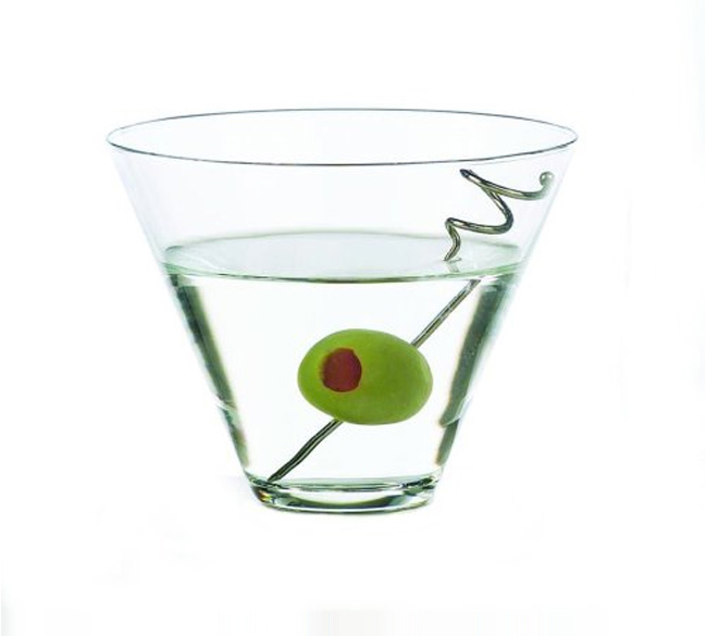 Libbey Stemless Martini, Box of 12
