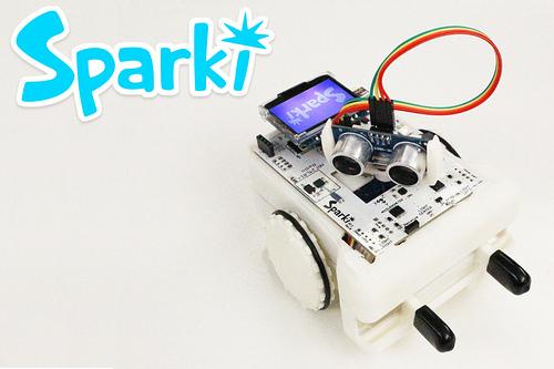 Sparki the robot